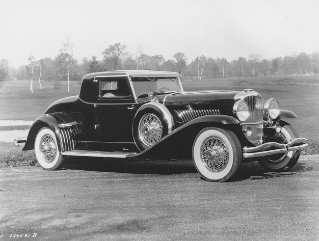 Car of the Week: 1931 Duesenberg Model J LaGrande coupe - Old Cars Weekly