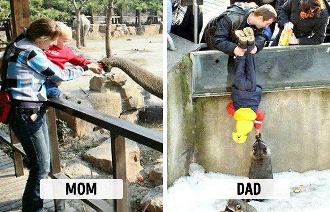 صور الأب صور الأم