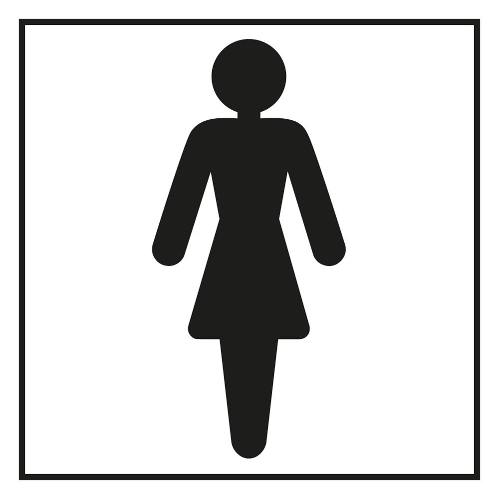 Male female bathroom sign images - Male Female Bathroom Signs Stock Image