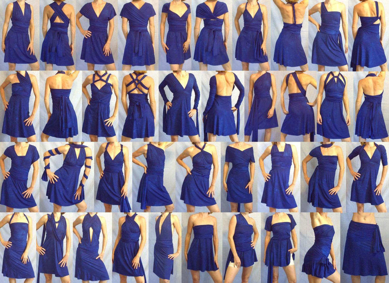 SAMPLE DRESS -- SHORT Free-Style Dress -- convertible dress, skirt ...