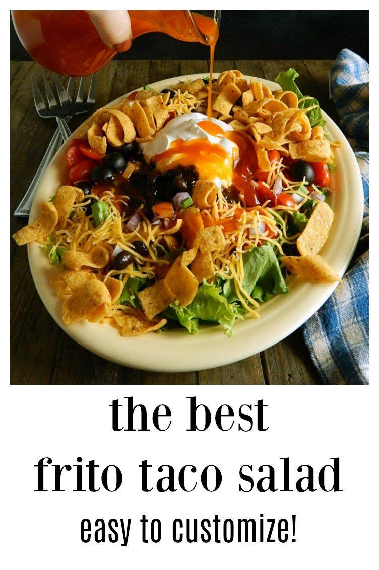 Frito taco salad frito taco salad mexican food recipes