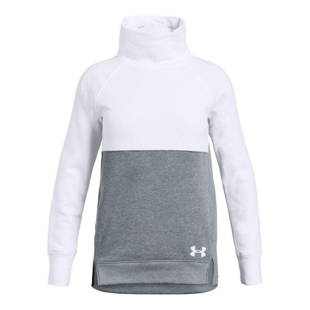 6fea2b4d47 Under Armour Girls' Rival Fleece Slouchy Crew | Products | Under ...