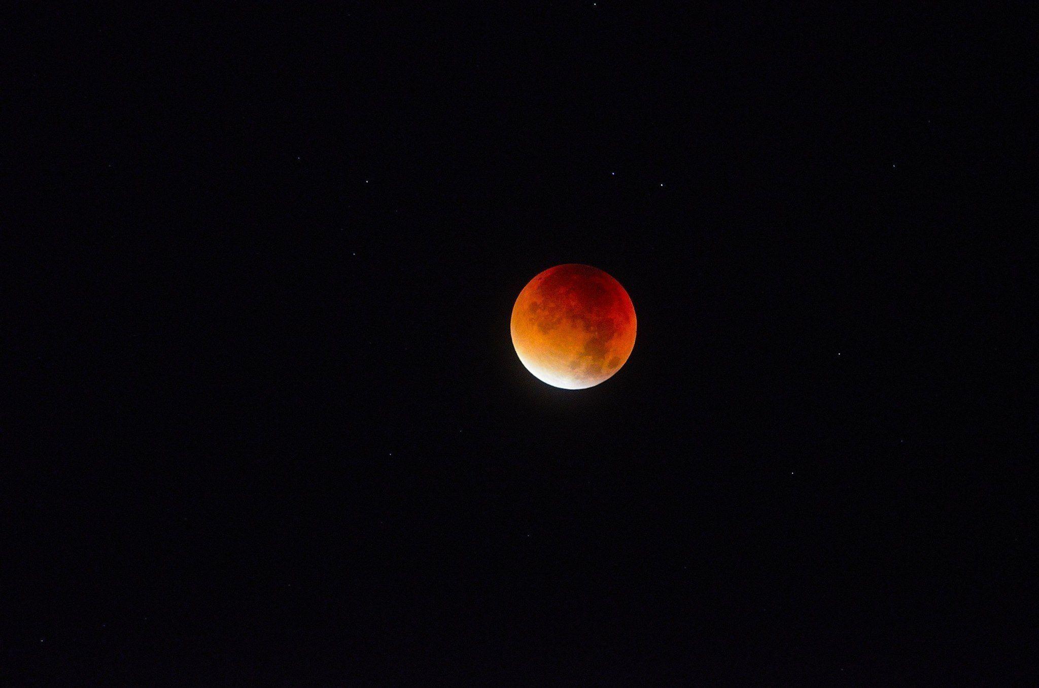 L'eclissi di superluna nelle foto dei lettori di Tom's Hardware. Complimenti a tutti!