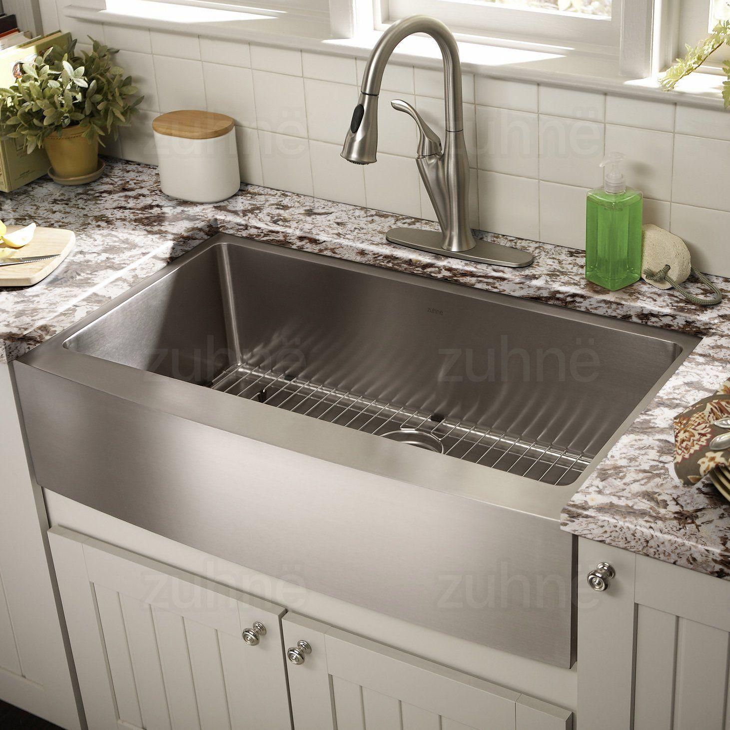 Zuhne 30 Best Stainless Steel kitchen Sinks