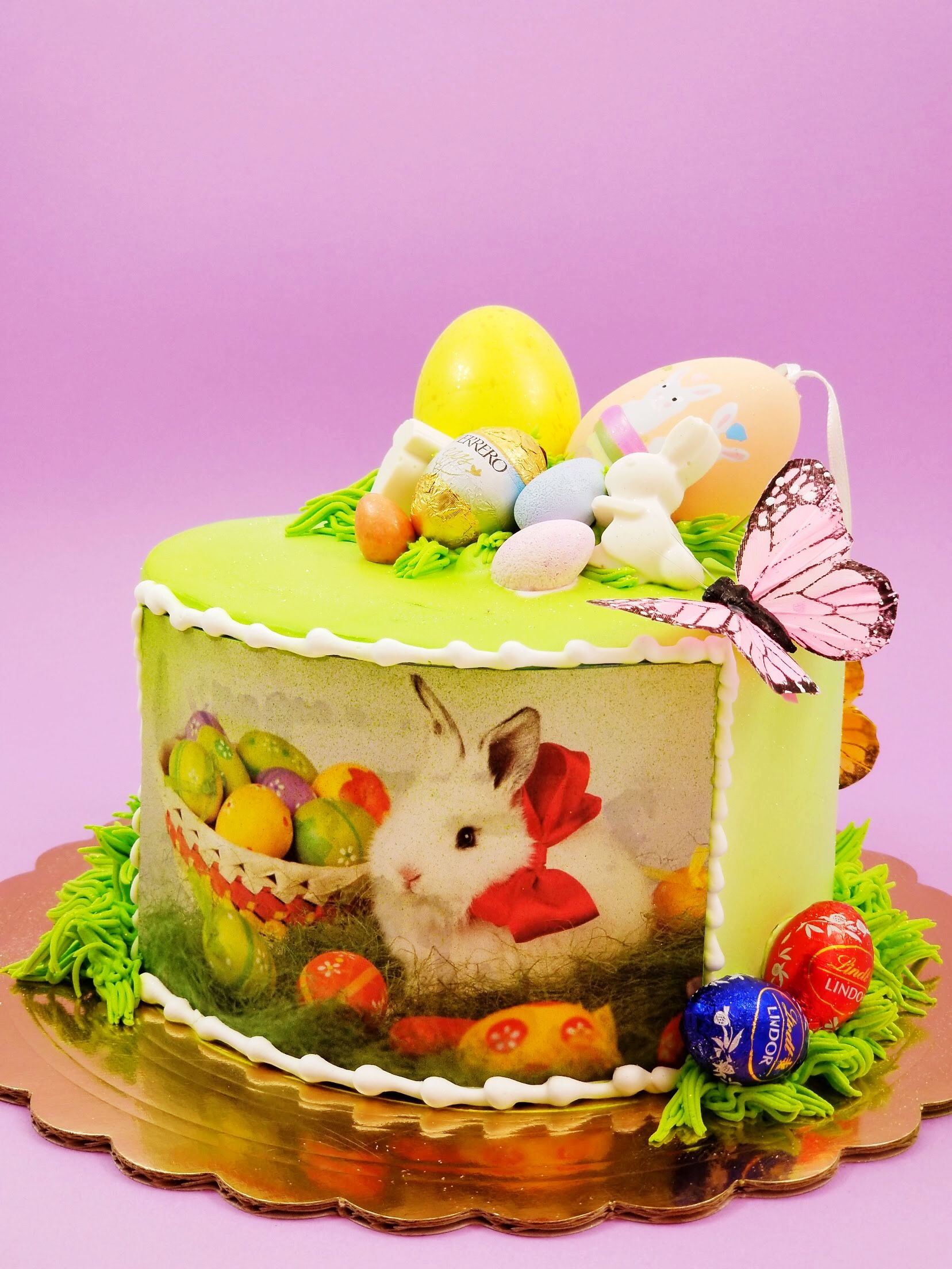 Adorable easter cakes available for delivery within los
