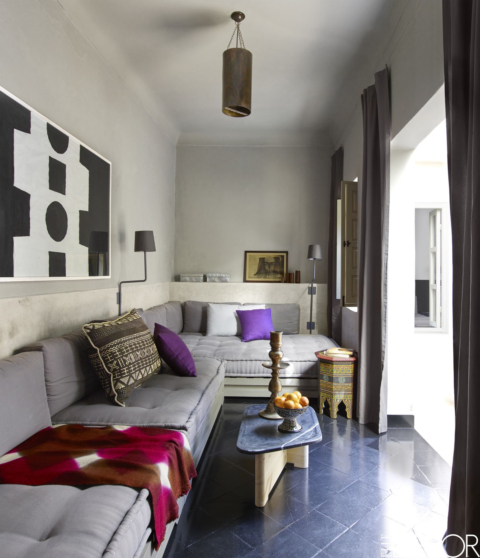 House Tour A Moroccan Riad Blends Rustic And Refined Style