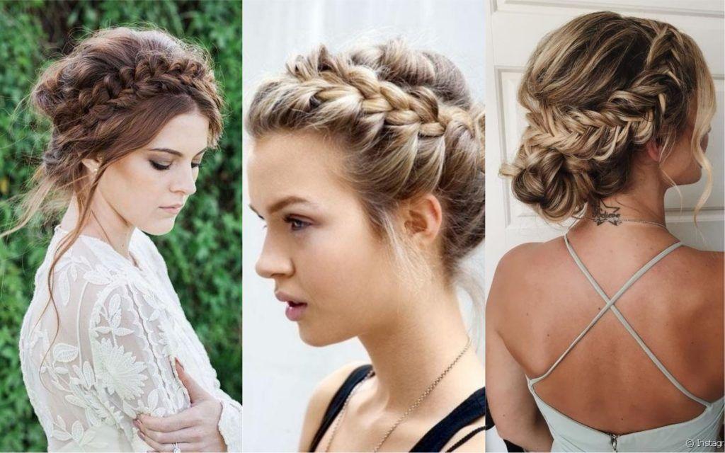 Peinados Para Bodas 77 Hermosas Ideas Para Novias E Invitadas Fotos Peinados Para Boda Peinados Con Trenzas Peinados
