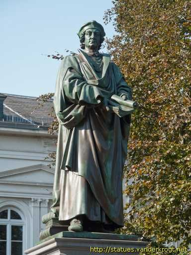Johannes Reuchlin  A German humanist and a scholar of Greek and Hebrew, although suspected of a leaning toward Protestantism, Reuchlin never left the Roman Catholic Church