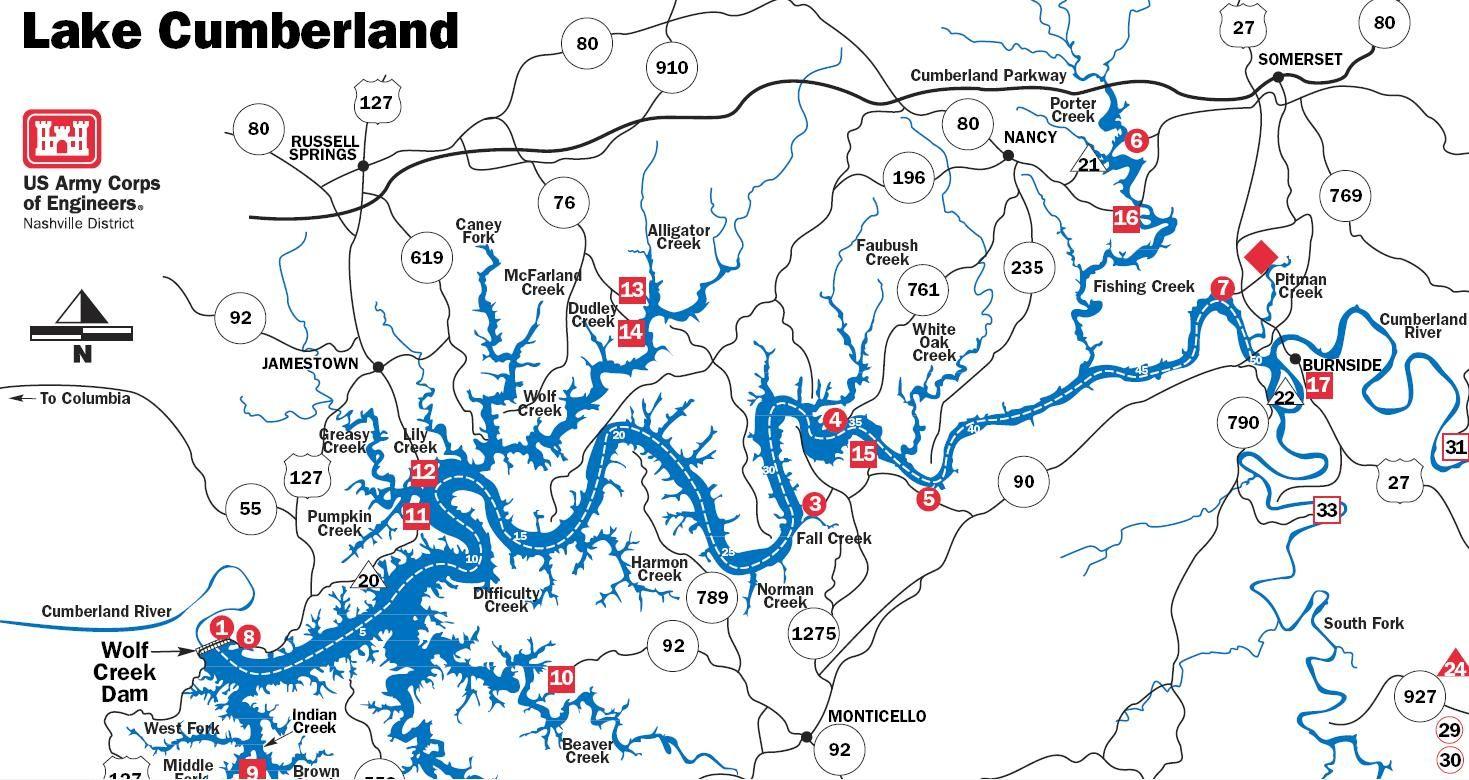 map of lake cumberland ky Map Of Lake Cumberland Yahoo Image Search Results Lake map of lake cumberland ky