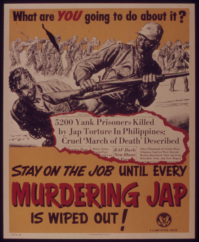 Us Propaganda Wwii Wwii Propaganda Posters Bataan Death March