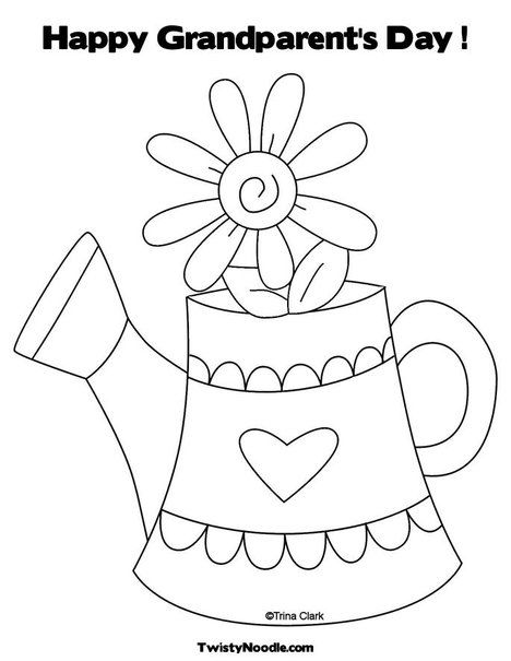 grandparents day coloring pages 8 ,colouring pictures | Grandparents ...