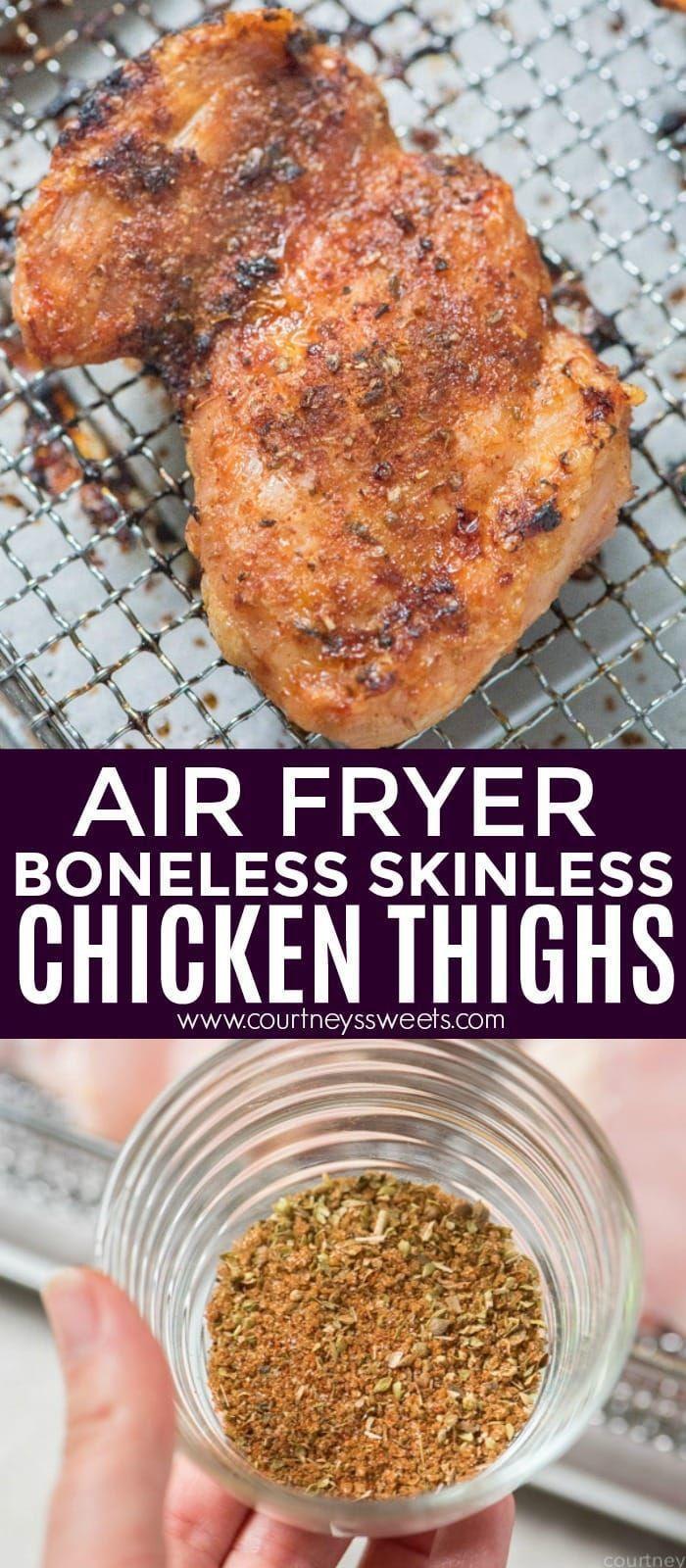 #chicken #thighs #airair #fryer #airFryer Chicken Thighs -Air Fryer Chicken Thighs -