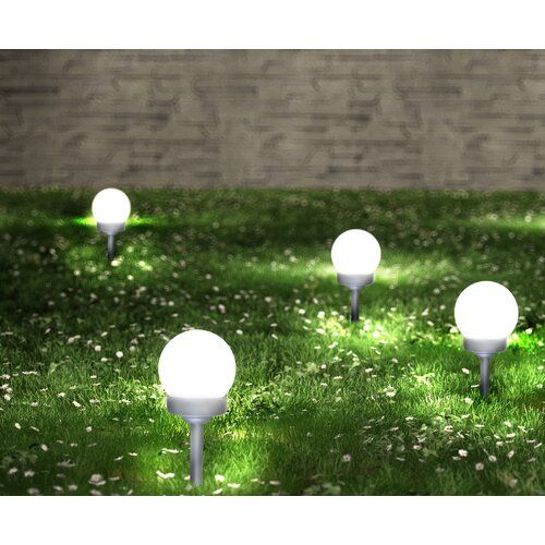 1 Light Led Pathway Light Set Of 12 Hokku Designs Led