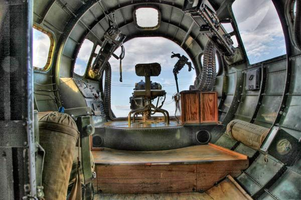 On later versions of the B-17G, the Nordon bombsight would actually fly the plane through the bomb run while coupled to the airplanes controls.…