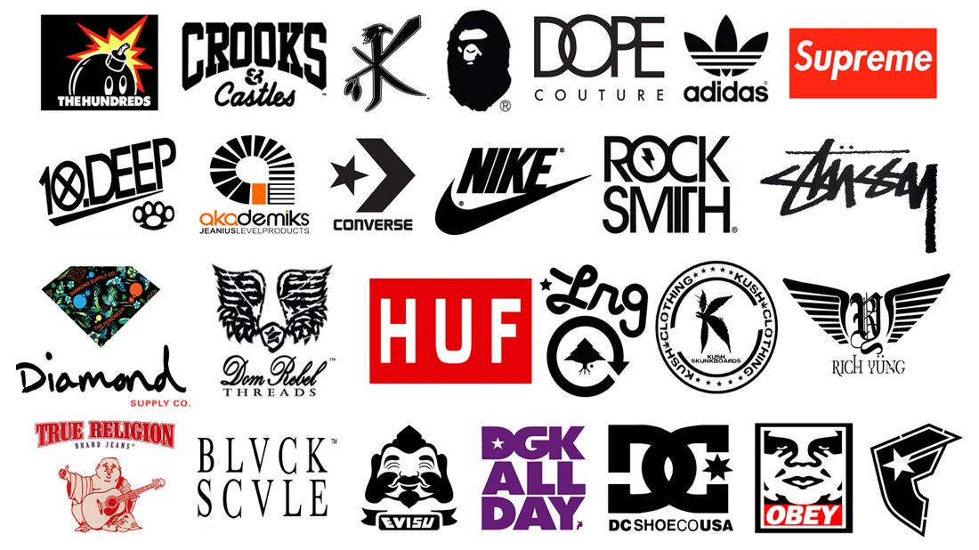 popular name brand clothing brand clothing brand companies