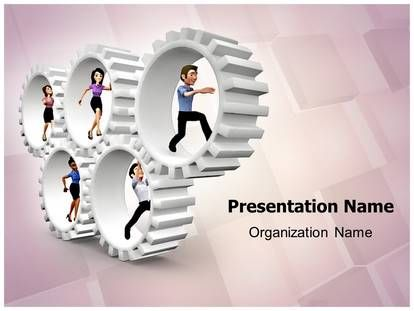 3D #Gear #Team #PowerPoint #Template is used by many #business ...