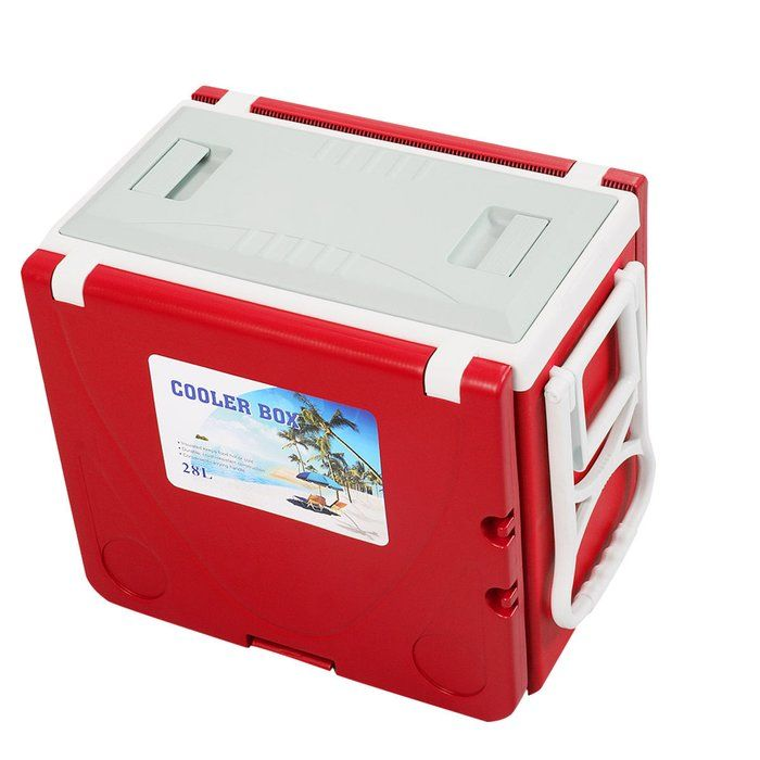 28 Can Rolling Picnic Camping Cooler Cooler Box Cool
