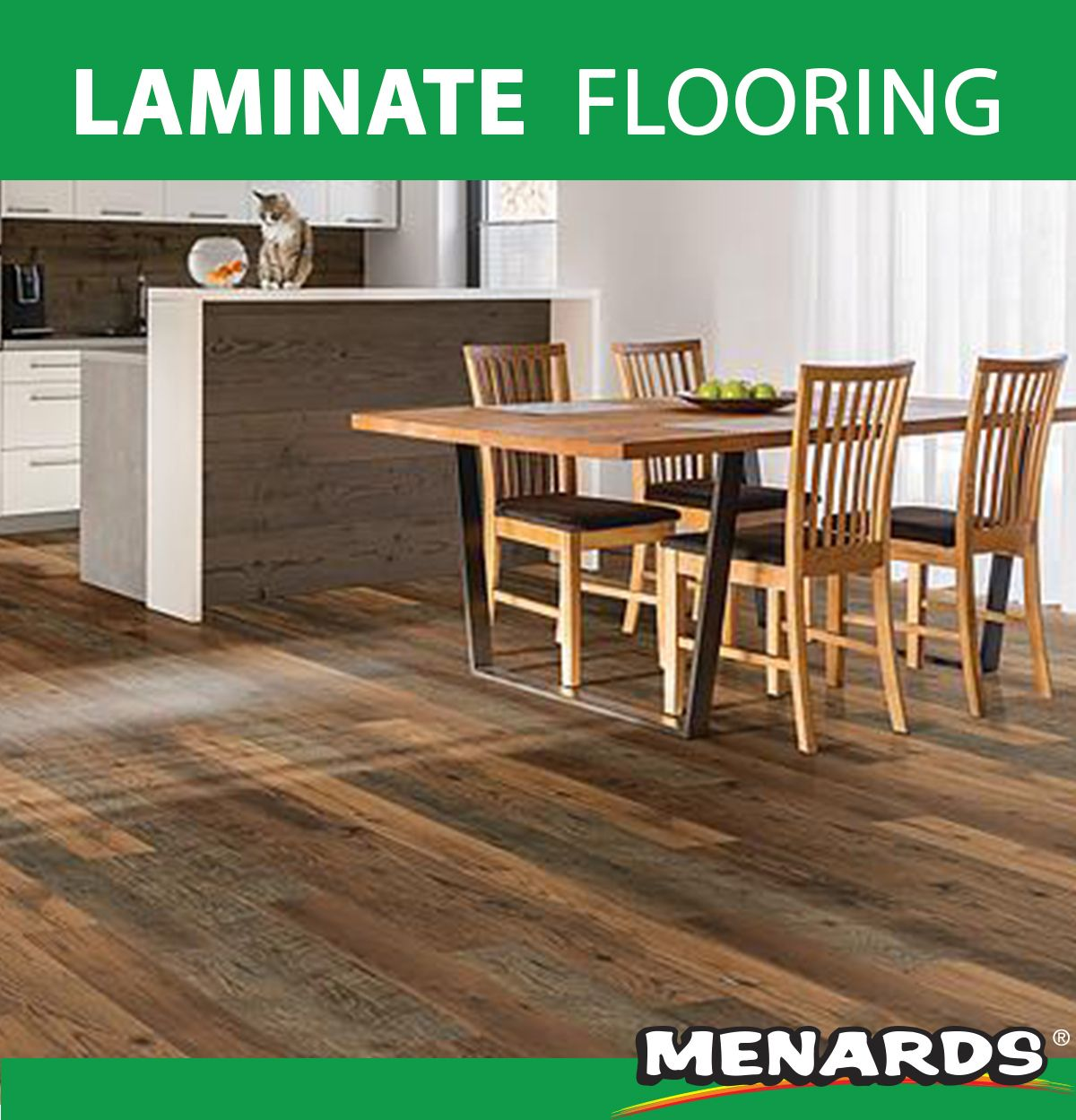 Mohawk's PerfectSeal laminate flooring uses an innovative
