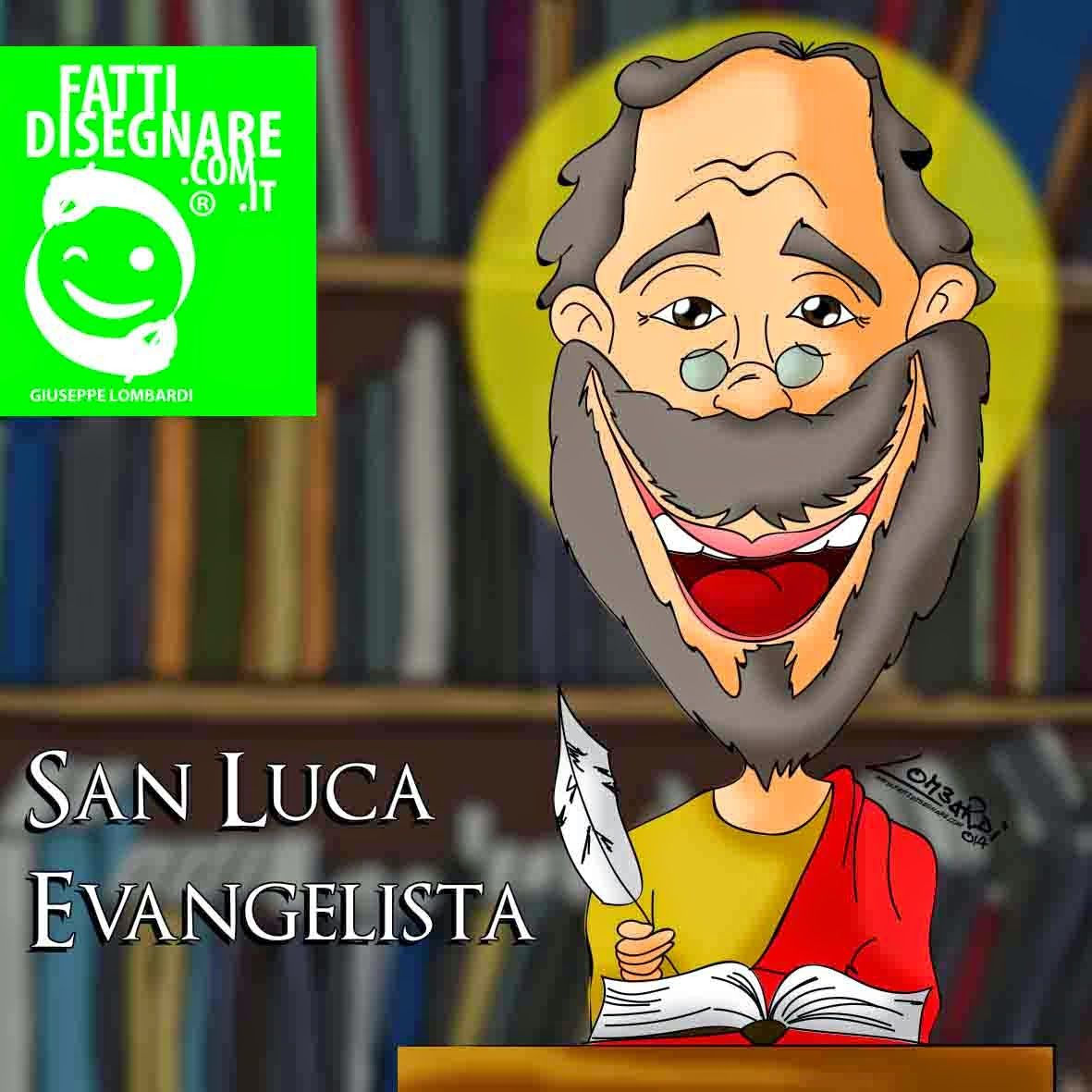 Il Santodelgiorno Sanluca Lucaevangelista Evangelista Vangelo