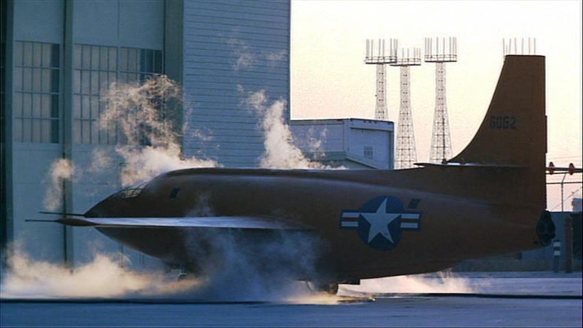 Bell X-1 waiting...