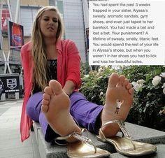 slave Under feet