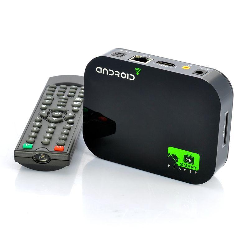 """Android 4.0 TV Box """"SmartDroid"""" Wifi, 1080p, HDMI TJI"""