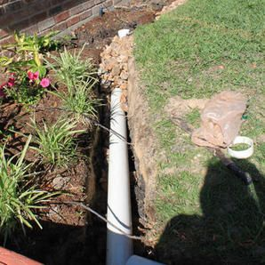 French Drain Will Solve Many Landscape Drainage Problems