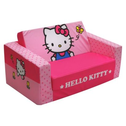 Best Magical Harmony Hello Kitty Tulips Flip Sofa Perfect For 640 x 480