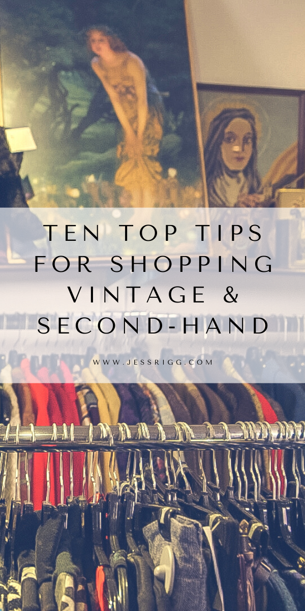 Here Are 10 Tops Tips For Vintage Thrift Second Hand Shopping Buying Preloved Clothes Is A Great Way To Make In 2020 Preloved Clothes Second Hand Clothes Two Hands