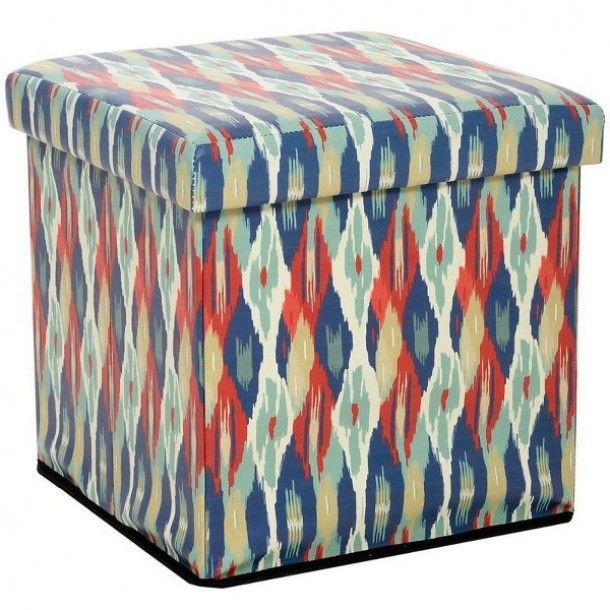 Boho Stool Storage Box 26euro See More Http Styleitchic Blogspot Gr 2015 05 Decor Ideas Trends Html Skampo Koyti Inart Furniture Stool Floor Cushions