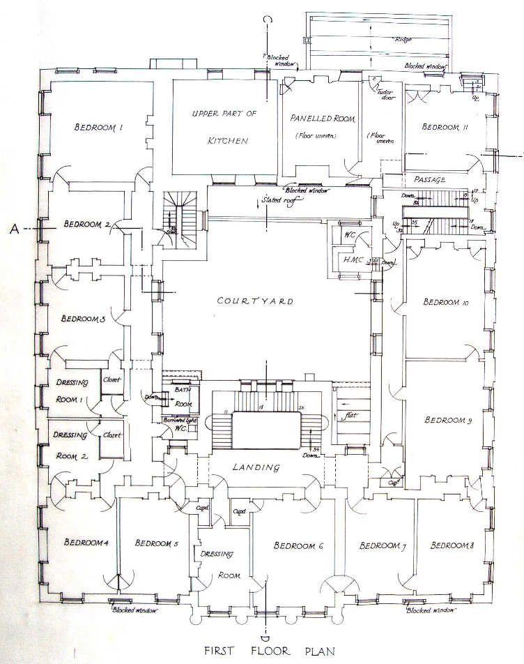 Hall 750 First Floor Plan 1937u Jpg 752 952 Mansion Plans Mansion Floor Plan Architectural Floor Plans