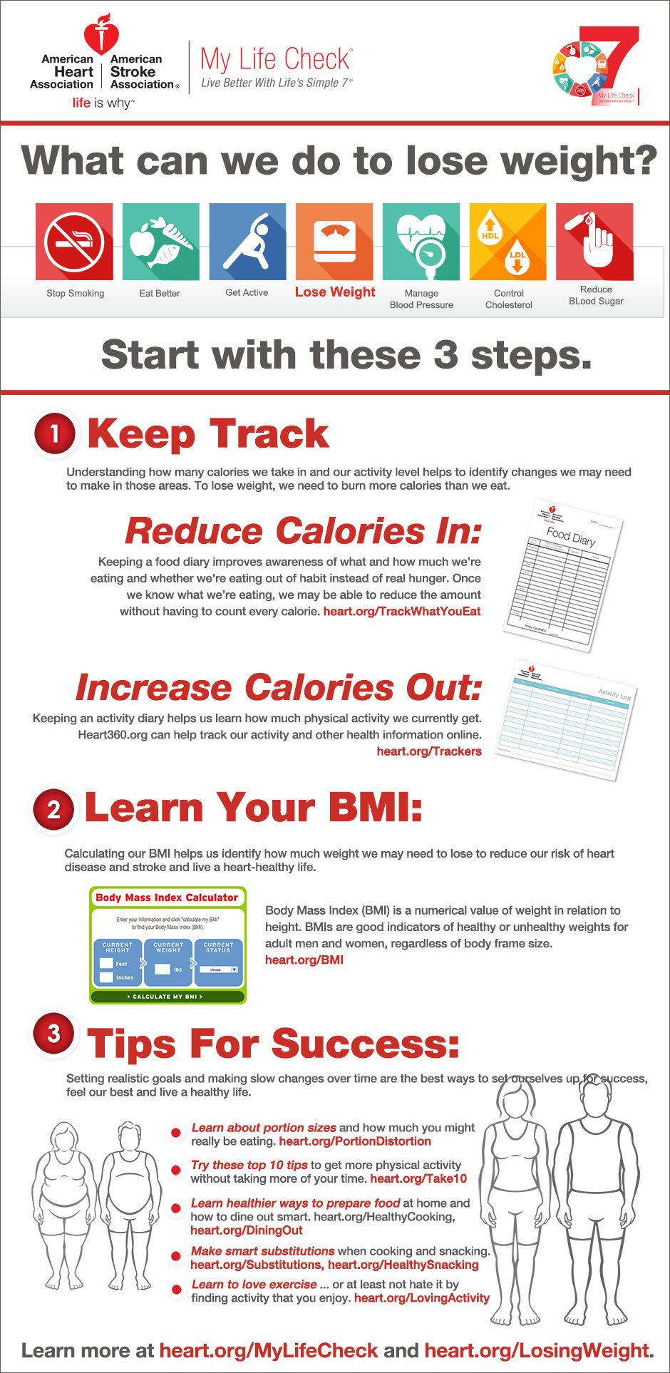 FC-LSS-Losing Weight Infographic | New Year-2017 | Pinterest ...