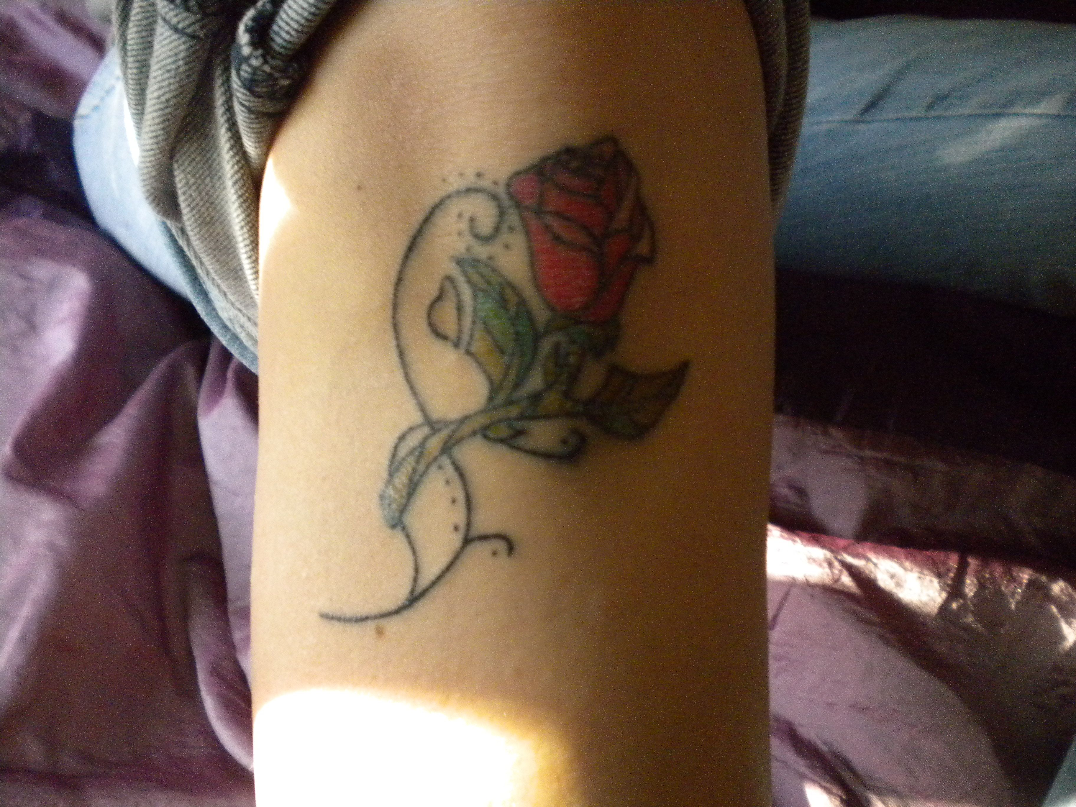 I know rose tatts are pretty much tacky, but when it's ...
