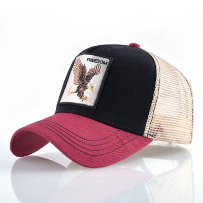 42b0ac07eb3af 8 Kinds of embroidery animal Baseball Caps men Breathable Mesh Snapback  caps Unisex sun hat for women bone Casquette Hip Hop cap