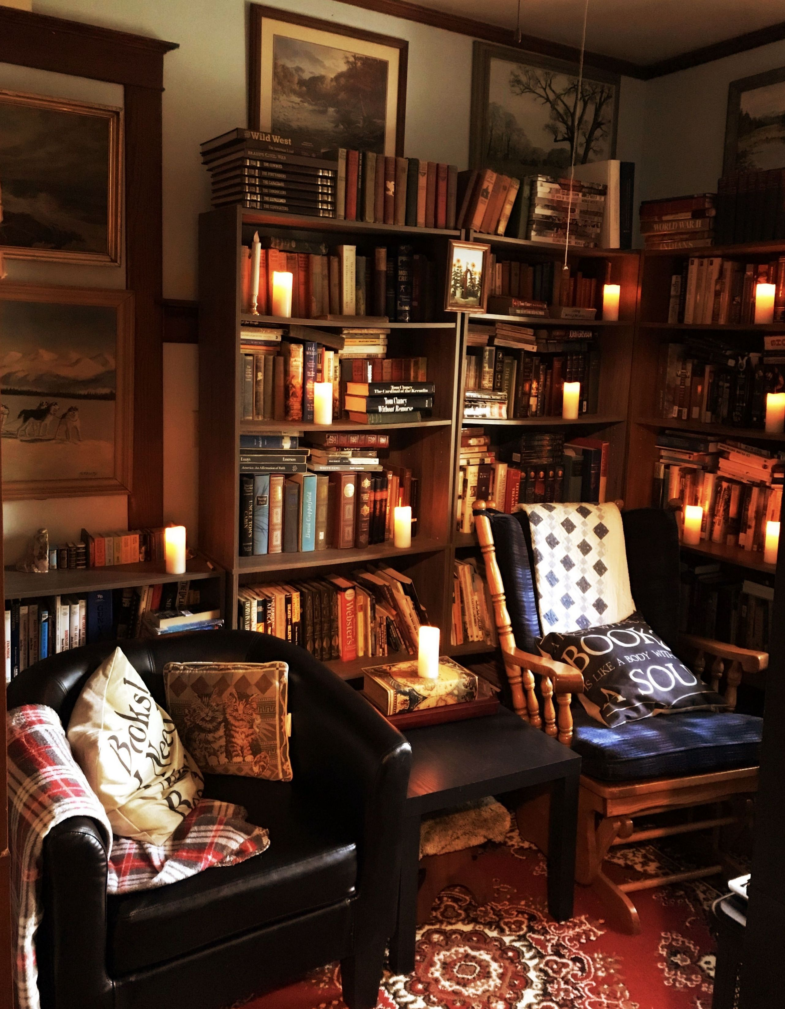 Home Library Decorating Ideas: 90+ Examples Of Cozy Study Space To Inspire You