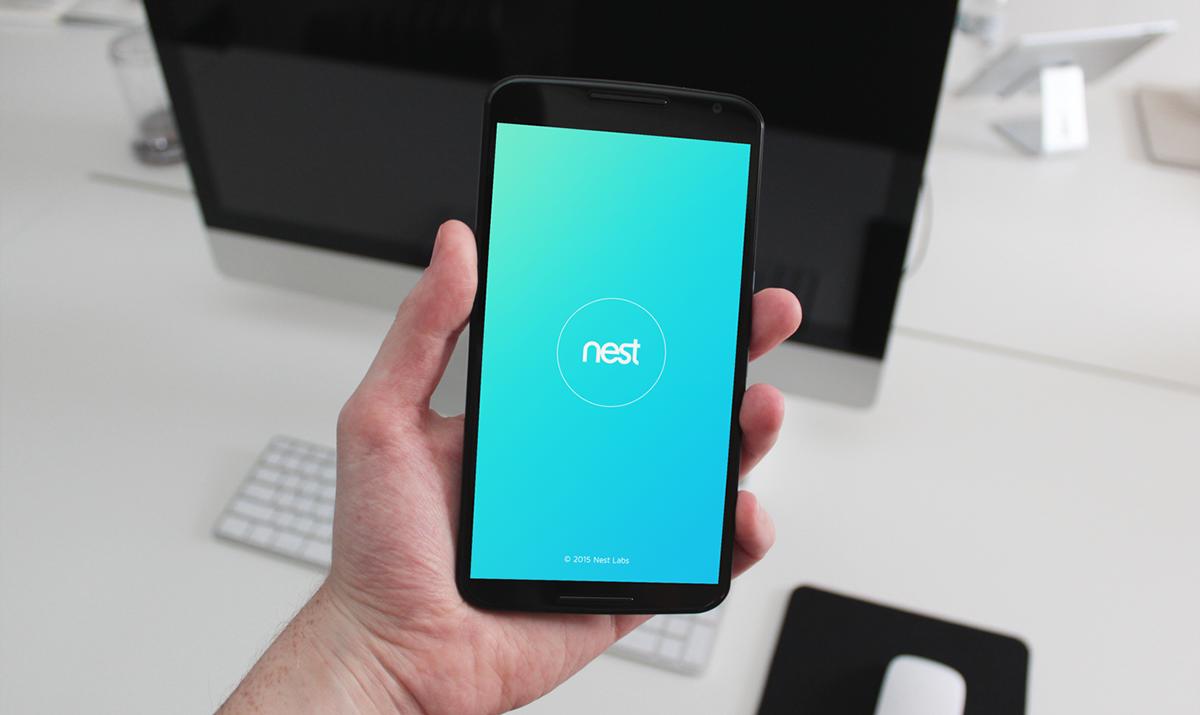 Nest App Redesign on Behance