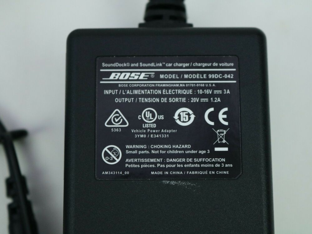 Bose SoundDock Portable Digital Music System / Soundlink Car