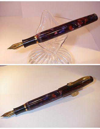 Triton Celluloide Mosaic Pen