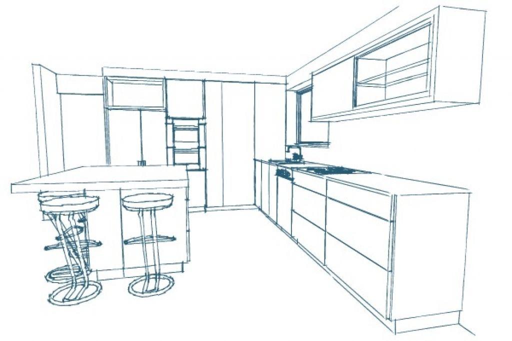Kitchen Design Sketch Kitchen Design Kitchen Design Sketch Sketches