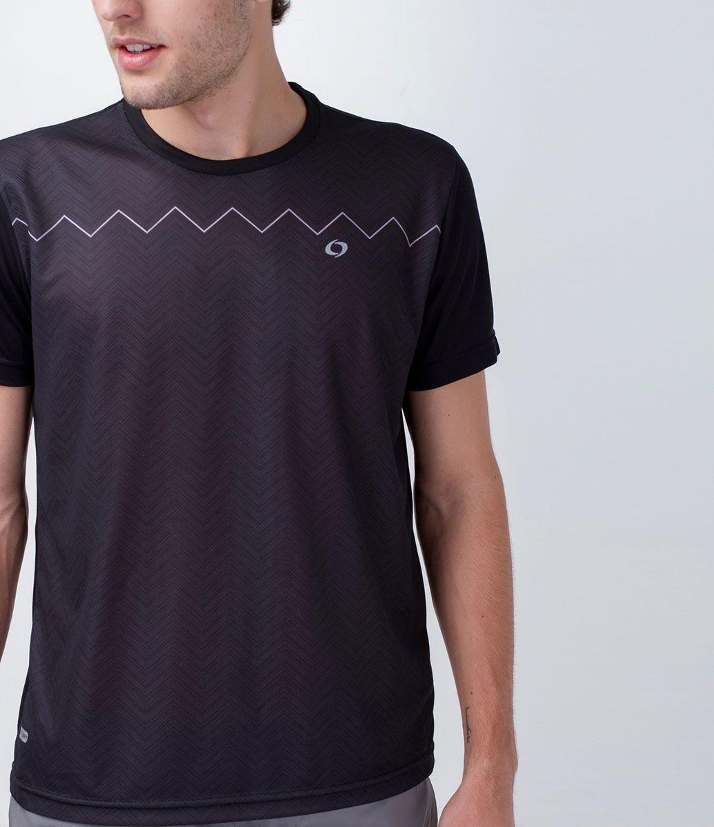 Camiseta masculina Manga curta Gola redonda Com estampa Marca  Get Over  Tecido   poliéster Composição 7bc2d2b5c8d