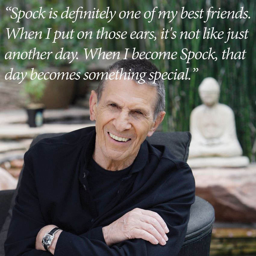 Leonard Nimoy Quotes Captivating 10 Leonard Nimoy Quotes That Inspired Us To Boldly Go  Leonard
