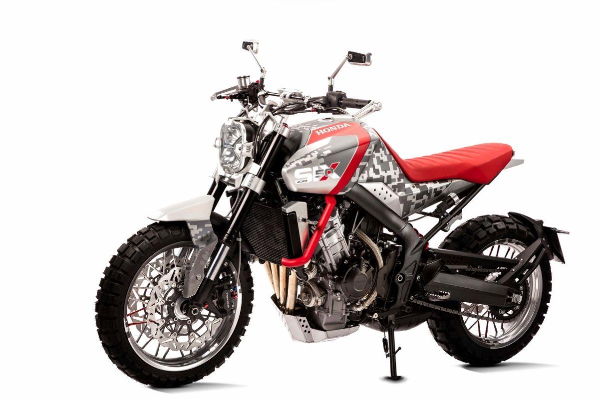 2018 honda motorcycles. contemporary motorcycles honda cbsix50 concept scrambler  dualsport motorcycle for 2017  2018  eicma 2015 to 2018 honda motorcycles d