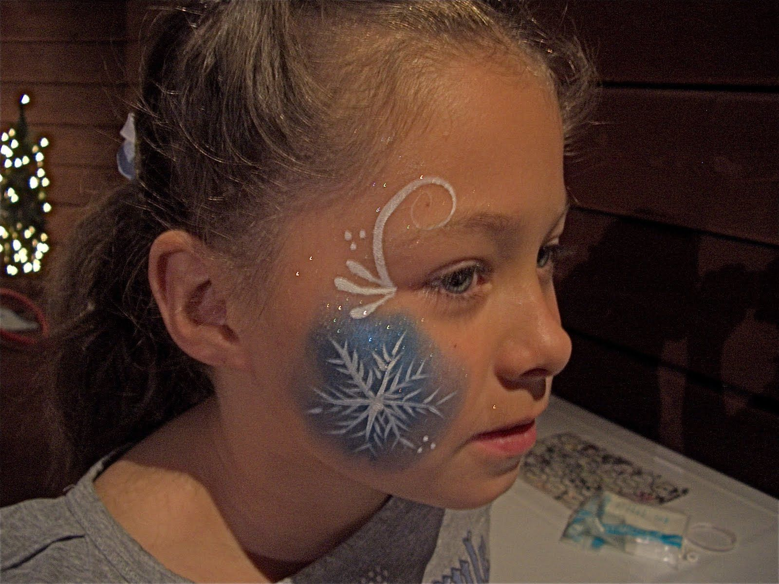 Easy Christmas Face Painting Ideas Snowman Google Search