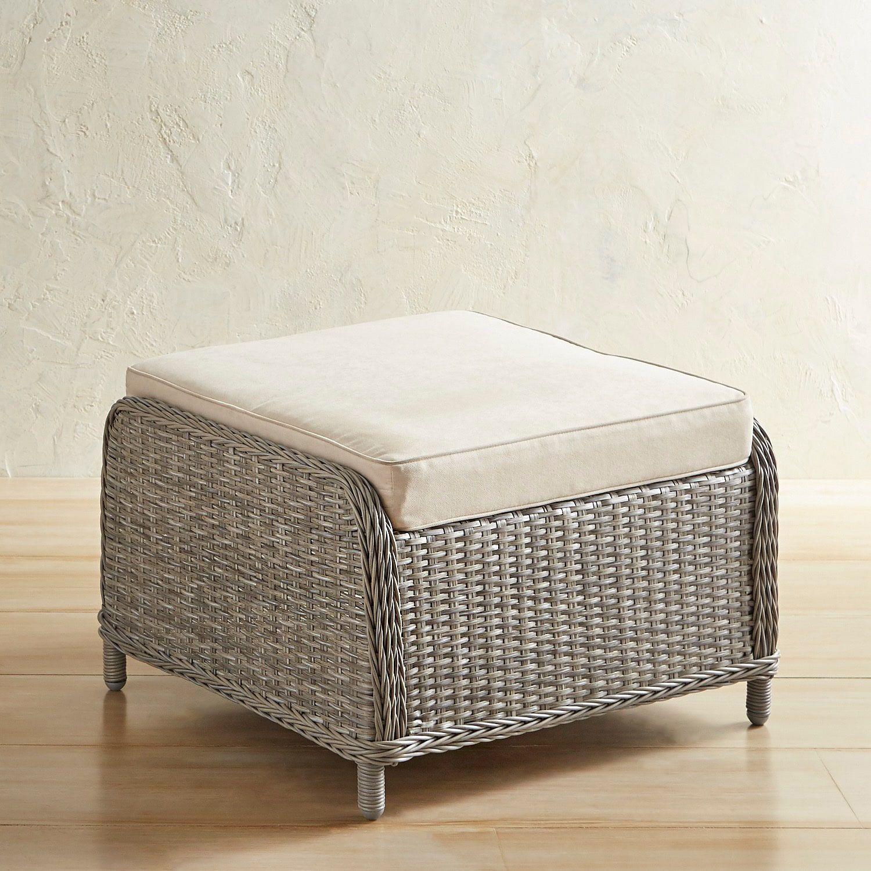 Prime Newport Gray Ottoman Patio Furniture Chairs Ottomans Cjindustries Chair Design For Home Cjindustriesco