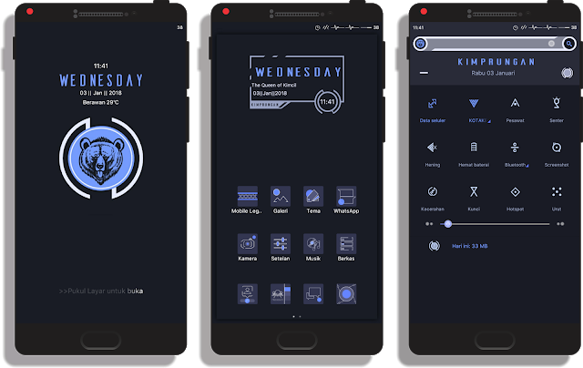 Kumpulan Tema Xiaomi Tembus Aplikasi Sosial Media Aplikasi Ponsel Wallpaper Ponsel