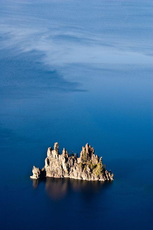 Phantom Ship ~ Crater Lake, Oregon