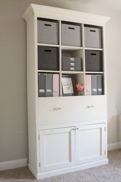 Diy Office Storage Cabinet Bookcase Office Furniture Diy Office