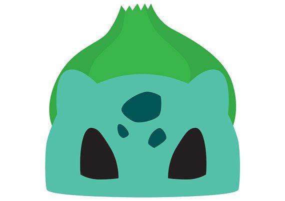 Heres A Printable Bulbasaur (Pokemon) Mask Which You