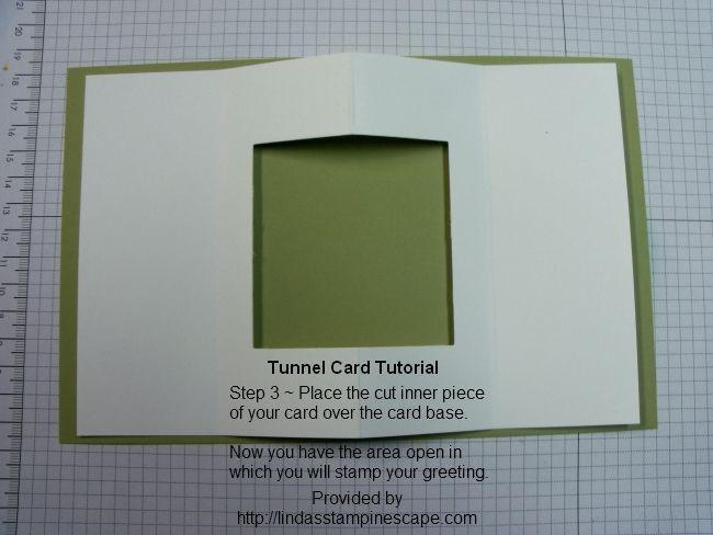 Tunnel Card Tutorial Card Tutorial Step Cards Card Making Tutorials