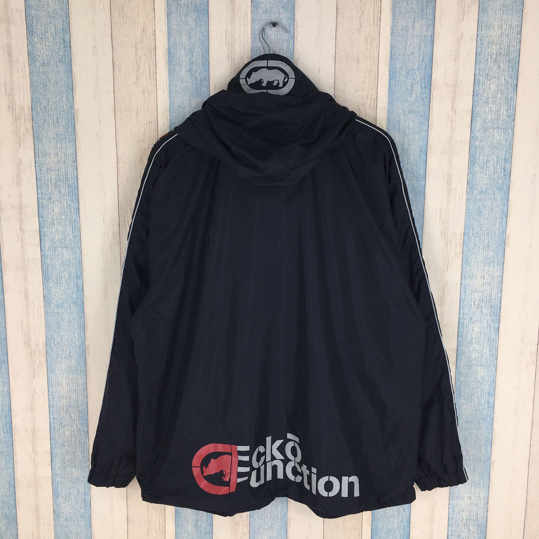 Men/'s Hip Hop ECKO UNLTD Graffiti Printing Zipper Hoodie Sweater Sweatshirt